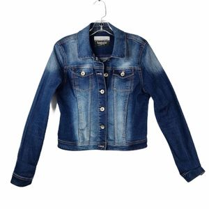 KENSIE JEANS BAINTON FOREVER CLASSIC FITTED JACKET